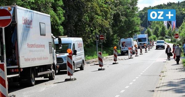 Grevesmühlen: Verkehrsprobleme wegen Arbeiten am Regenwasserkanal