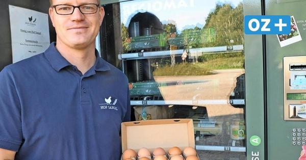 Erfolgstrend in Mecklenburg: Hier kommen die Freilandeier aus dem Automaten