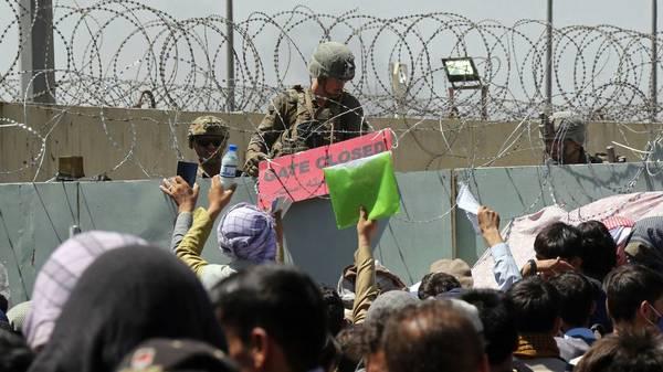 Pentagon meldet Explosion am Flughafen Kabul