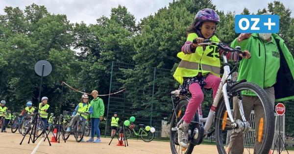 Allein mit dem Rad zur Schule in Greifswald? Verkehrswacht spricht sich für Elterntaxi aus