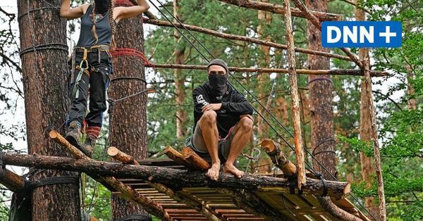 """""""Wir bleiben solange wie nötig"""" – Aktivisten besetzen Wald bei Kiestagebau Ottendorf-Okrilla"""