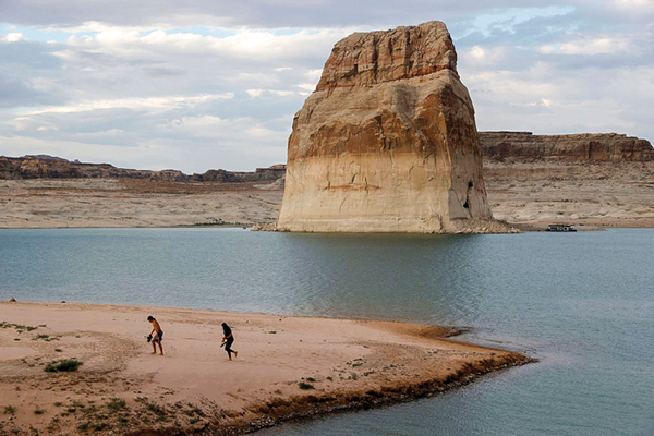 The incredible shrinking Colorado River