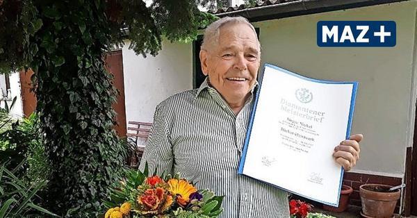 Seit 60 Jahren ist der Nauener Jürgen Nickel Bäckermeister