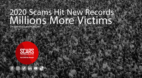 2020 Scams Hit New Records - Millions More Victims | Cybercriminology
