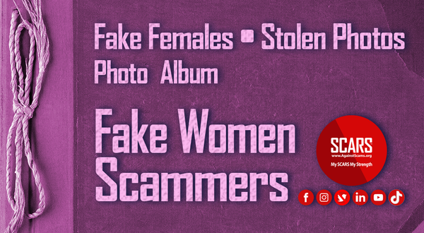 Stolen Photos Of Women August 2021 | Stolen Photos Used By Scammers