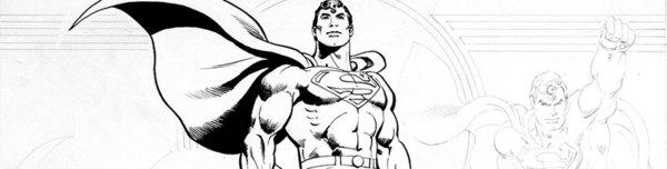 Jose Luis Garcia Lopez - Superman Style Guide Original Art