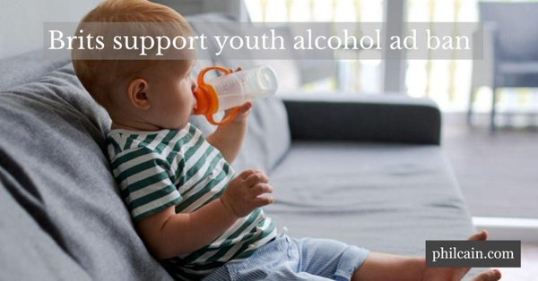 Over three-quarters of Brits want laws to limit the exposure of under-18s to alcohol ads, amid record alcohol deaths