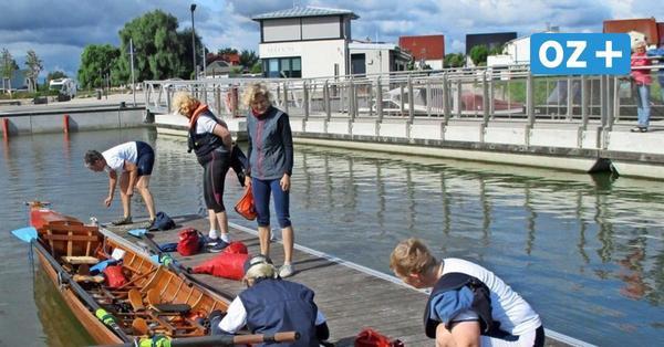 Großer Hafen in Usedom-Stadt, aber an Gastronomie fehlt es