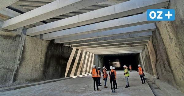Swine-Tunnel bei Usedom: 1000Meter sind bereits gebohrt