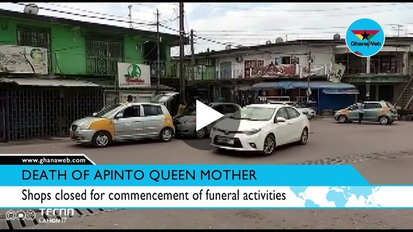 Eyes on the Ground: Commercial activities banned in Tarkwa to mark queen mother's funeral
