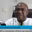 GNAT charges GES to immediately retract new extension of contact hours for teachers