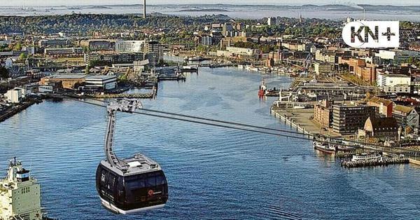 Leitfaden für interessierte Städte: Auftrieb für eine Seilbahn in Kiel