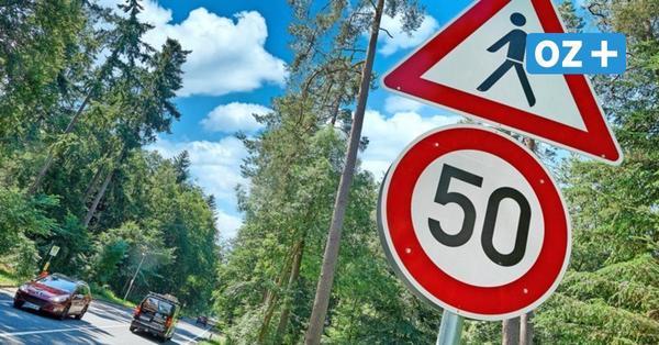 Tempo 50 für Raserstrecke L 22 in Hinrichshagen: Das haben die Maßnahmen gebracht