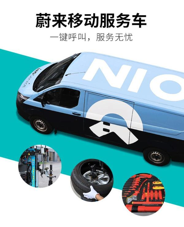 NIO unveils mobile service van that can help users fix their cars anywhere, anytime - CnEVPost