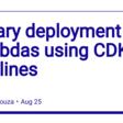 Canary deployment of Lambdas using CDK Pipelines - DEV Community