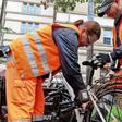 Stadtreinigung entsorgt 180 Schrottfahrräder