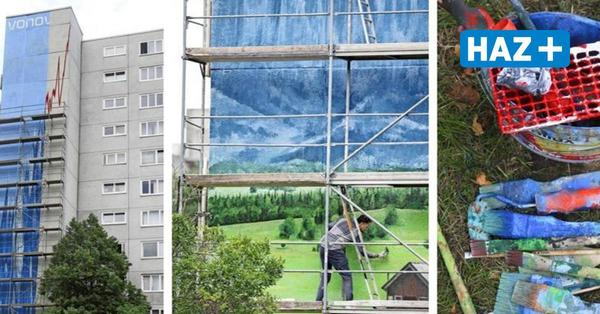 Grafitti-Künstler bemalen Vonovia-Wand – und nutzt das für Protest