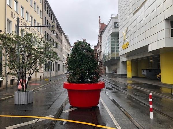 Lebender Poller: Die Prinzenstraße in Hannover. (Foto: Stefan Arndt)