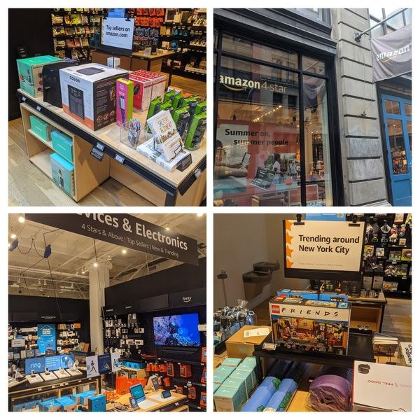 Amazon's 4 ⭐️+ Seller Store in Spring St in New York