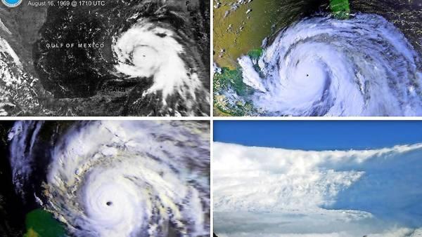 Das sind die schlimmsten Hurrikanes aller Zeiten