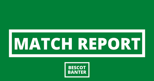 Match Report: Walsall 1 Stevenage 0