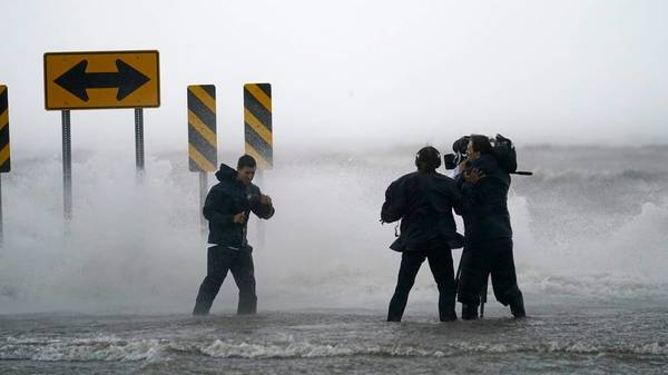"""""""Extrem gefährlicher"""" Hurrikan """"Ida"""" in Louisiana auf Land getroffen"""