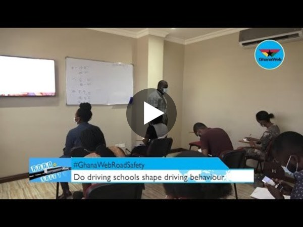 #GhanaWebRoadSafety: What you did not know about driving schools