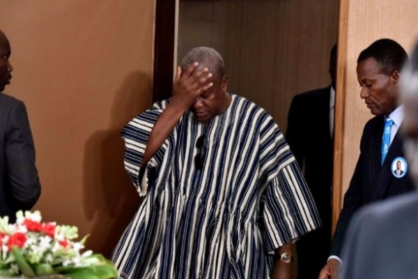 Mahama condemns killing of international journalist; calls on gov't to tackle symptomatic highway robberies head-on