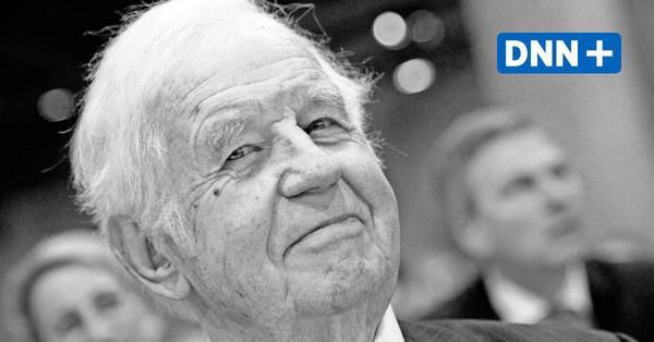 Kurt Biedenkopf: Wie Dresden den früheren Ministerpräsidenten ehren kann