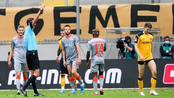 Das völlig verpatzte Comeback des Robin Becker bei Dynamo Dresden