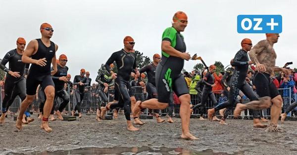 """Stralsunder Triathlon bei Regen: """"Wer friert, hat sich keine Mühe gegeben"""""""