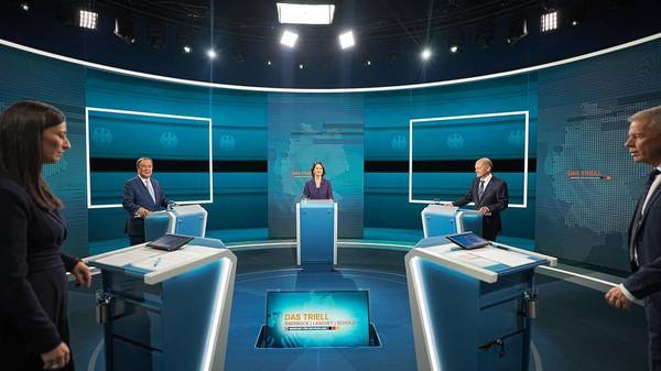 Faktencheck zum TV-Triell: Wo die Kandidaten übertrieben haben oder daneben lagen