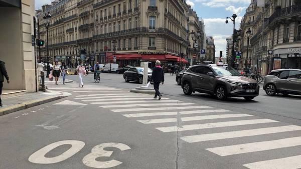 Ab heute gilt Tempo 30: schön langsam durch Paris
