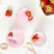 Crèmes à la fraise & yaourt grec
