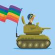 Försvarsmakten och flaggan