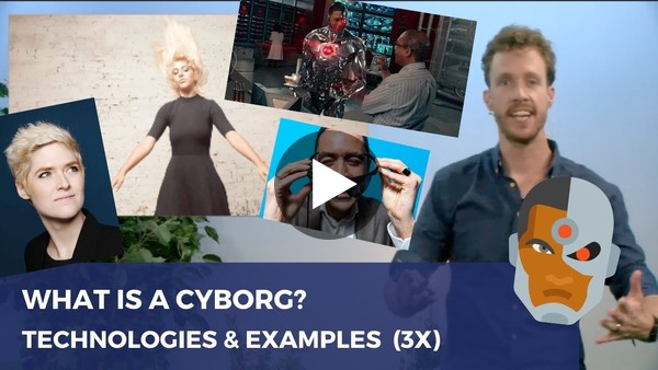 My talk about Cyborgs at the University of Twente.