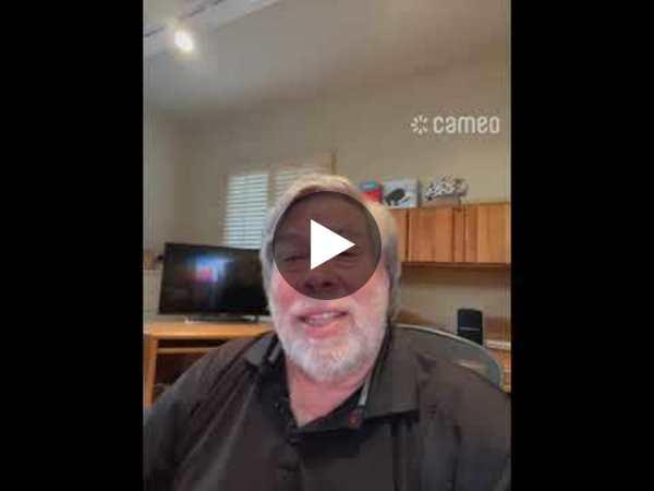 Steve Wozniak speaks on Right to Repair