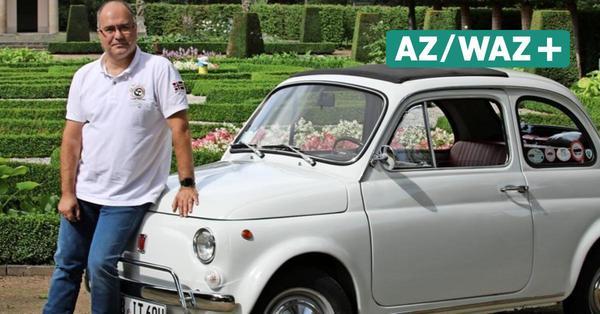 Klassiker aus Wolfsburg: VW-Mitarbeiter Mauro Pianezzola liebt seinen Fiat 500 L