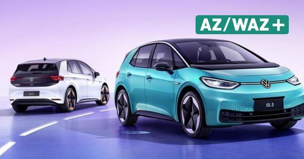 Volkswagen ID.3 feiert Premiere in China