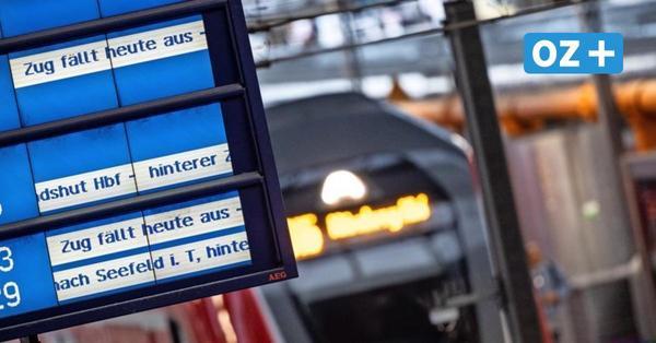 Bahnstreik in MV: Für diese Zug-Strecken soll es Ersatzfahrpläne geben – und für diese nicht