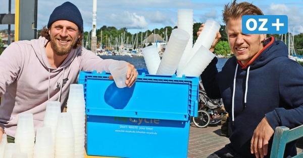 Umweltfreundlich Partys feiern: Rostocks erster Becher-Verleih macht es möglich