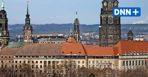 Neue Flagge weht in Solidarität mit jüdischem Leben vor dem Rathaus Dresden