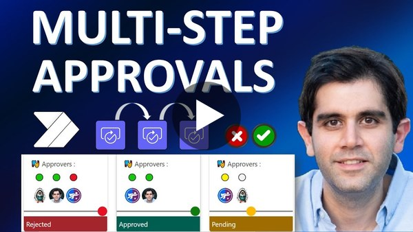 Power Automate Multi Level Approval Workflow | Serial Approval | Multiple Approvers
