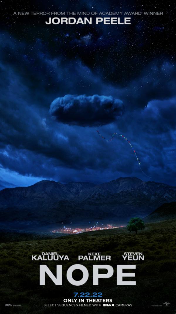 Nope; Mysterieuze poster voor nieuwe Jordan Peele-film