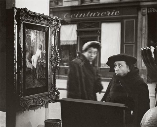 Robert Doisneau, La Dame Indignée, 1948.