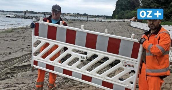 Strand in Devin bei Stralsund freigegeben: Warum weitere Aufschüttungen notwendig sind