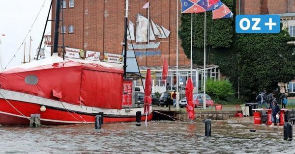 Wie gefährlich ein extremes Hochwasser in Stralsund werden kann