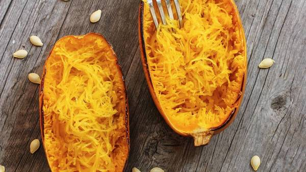 Spaghettikürbis als einfache und leckere Pasta-Alternative