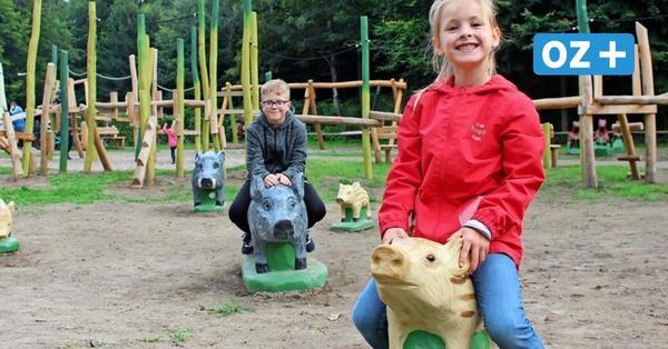 Neuer Erlebnisspielplatz am Jagdschloss Granitz auf Rügen: Das sagen die Kinder dazu
