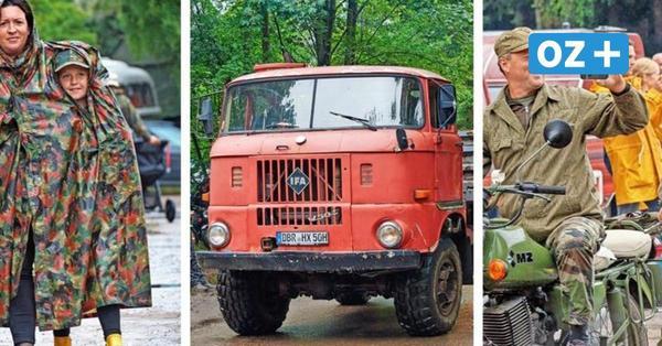 Ostblock-Treffen in Pütnitz: So schön war die Veranstaltung trotz Regen
